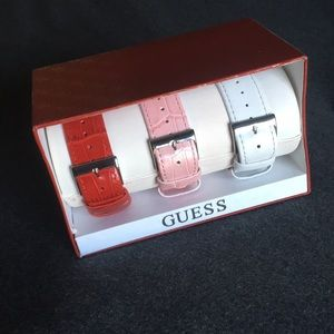 Set of 3 guess watch replacement bands